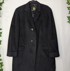 Vintage 1960's Pure Cashmere Overcoat